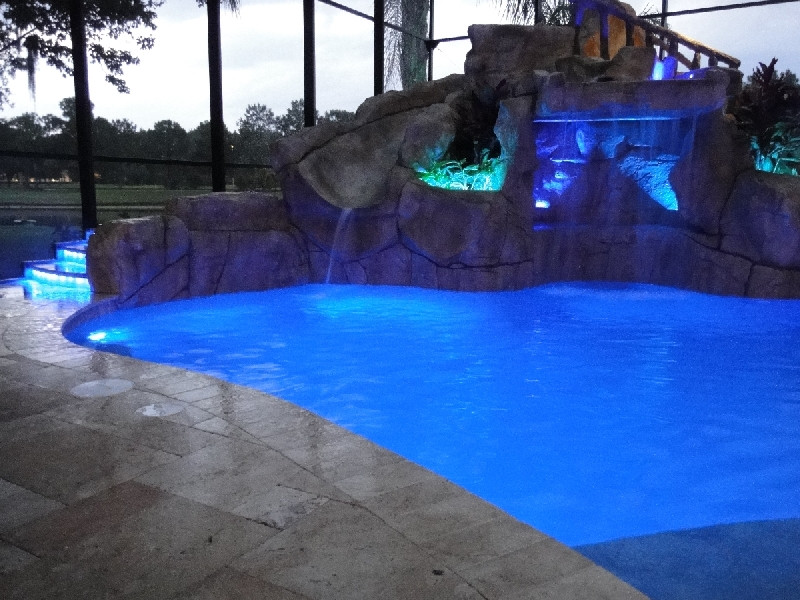 led pool area lighting
