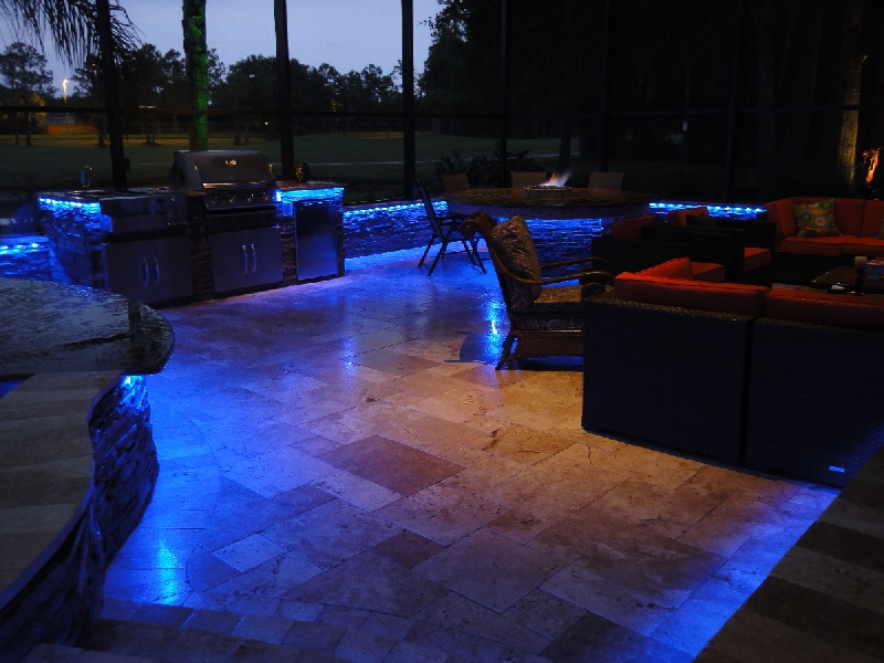 led outdoor furniture lighting