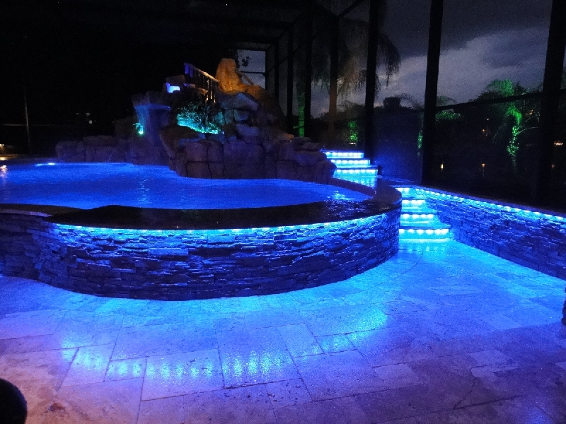 pool lighting with leds