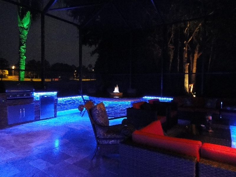 led outdoor grill lighting