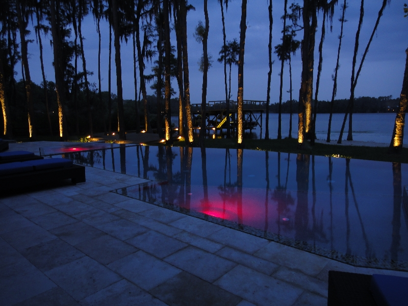 led pool and lake