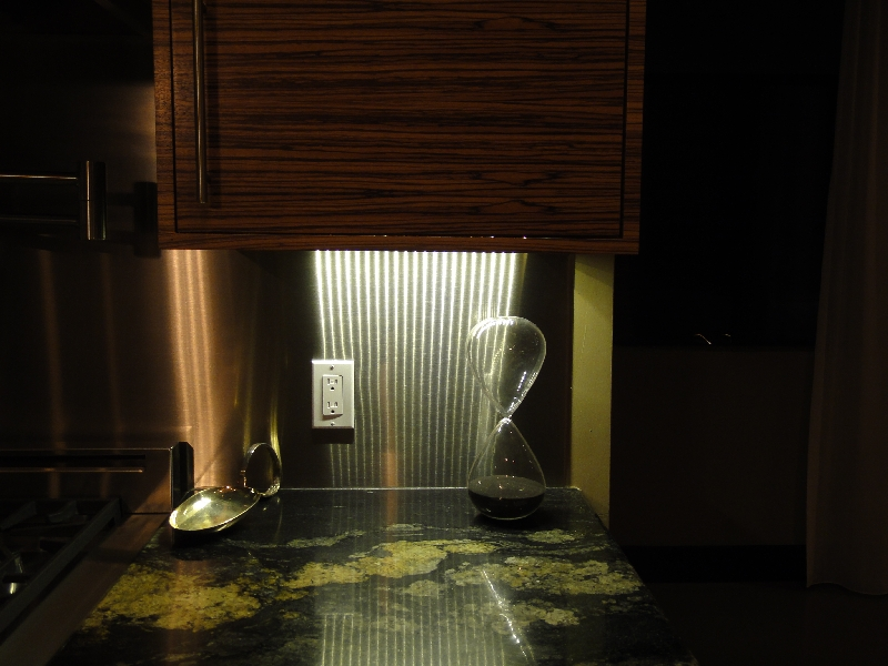 led granite countertop